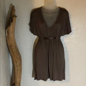 Lux xs brown dress